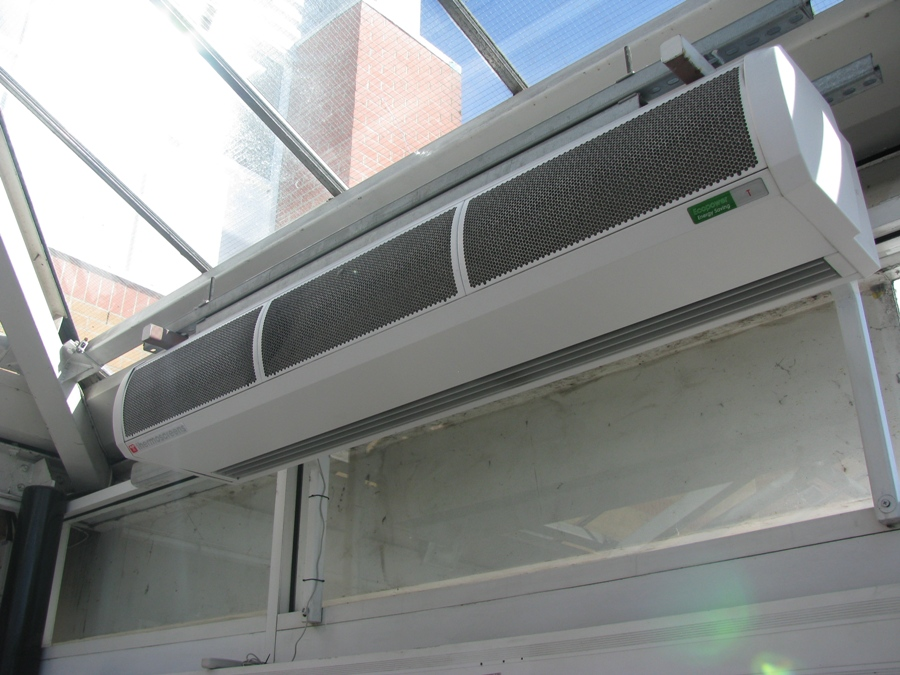 Electric Heated Air Curtain - T100E