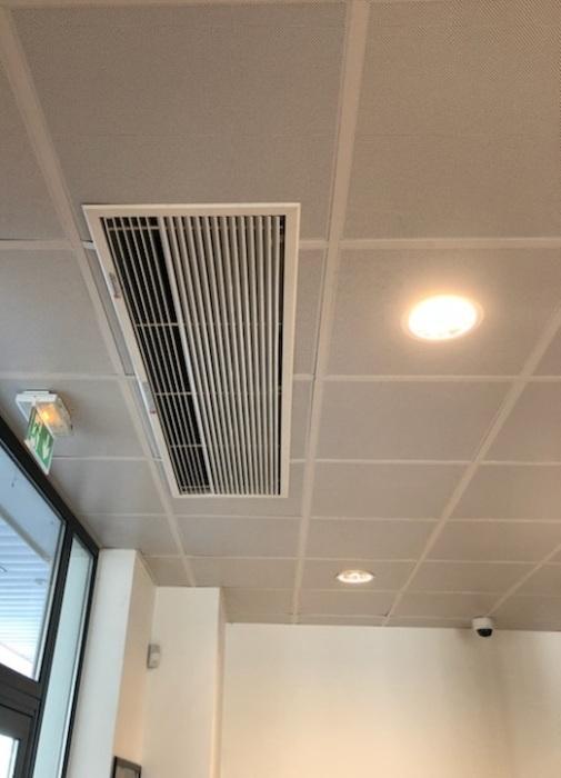 Rideau d\'Air chaud électrique encastrable 1,5m - Teddington ...
