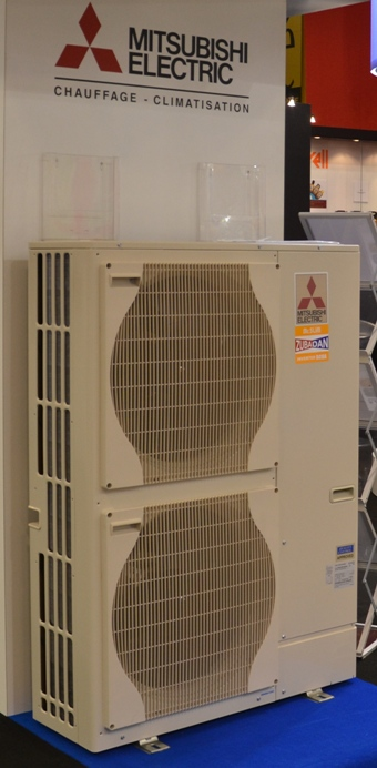 Rideau d'Air chaud thermodynamique 2m - HP2000DXE