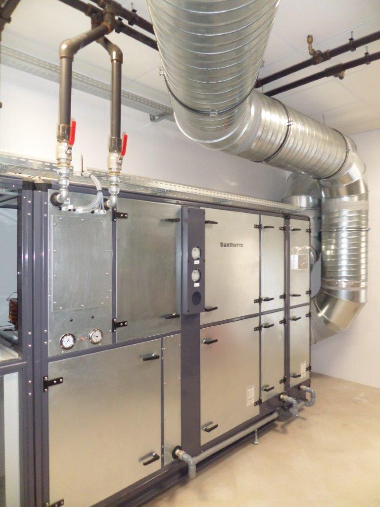 centrale de traitement d 39 air double flux dantherm danx. Black Bedroom Furniture Sets. Home Design Ideas