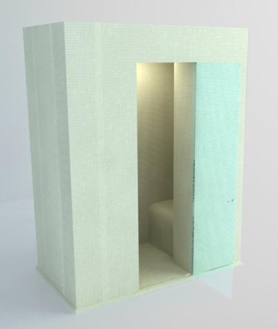 hammam pr t monter et carreler avec toit plat ml kduop teddington bien tre. Black Bedroom Furniture Sets. Home Design Ideas