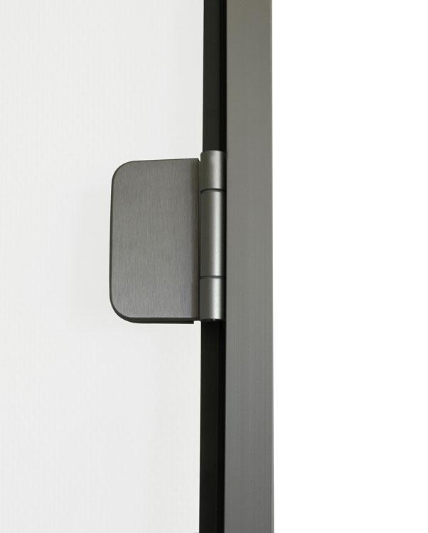 Porte pour hammam sur mesure avec profil s en aluminium for Porte de hammam