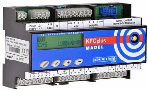 Radio controlled advanced zoning system - KFC-PLUS