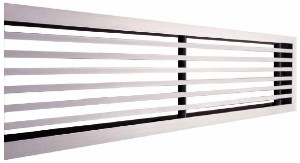 Reduced frame linear grilles - LMT-MINI