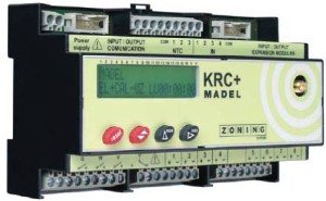 Radio controlled advanced zoning system - KRC-PLUS Free Cooling